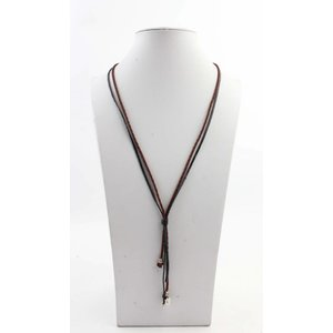 "Necklace ""Carly"" brown"