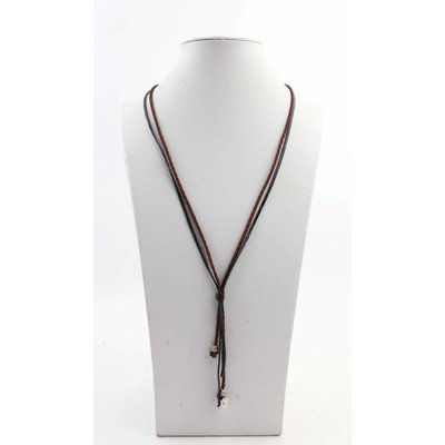 """Necklace """"Carly"""" brown"""