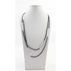 """Necklace """"Aracely"""" black"""