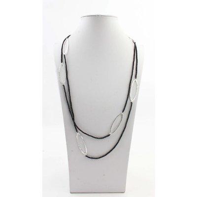 "Halskette ""Aracely"" schwarz"