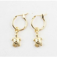 "Earring ""Timbavati"" gold"