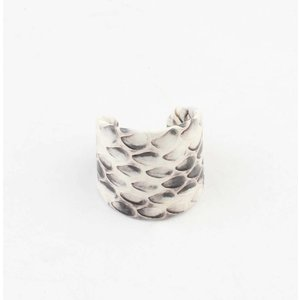 "Ring ""Baluale"" white"