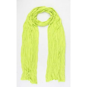 "Scarf ""Uni Jersey S"" toxic green"