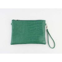 "Clutch ""Mantenga"" green"