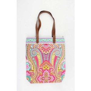 "Shopper ""Machangulo"" rosa/turquoise"
