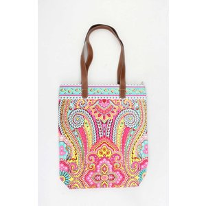 "Shopper ""Machangulo"" roze/turquoise"