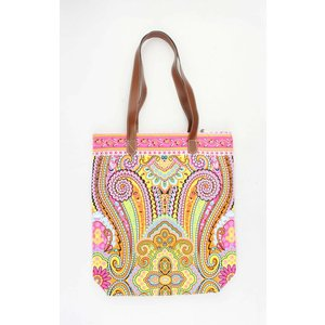 "Shopper ""Machangulo""geel/roze"