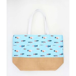 "Shopper ""Mabibi"" blue"
