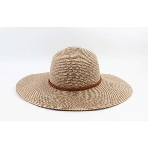 "Flap hat ""Monzi"" brown"