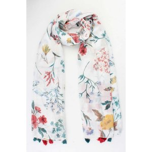 "Scarf ""Upington"" white"