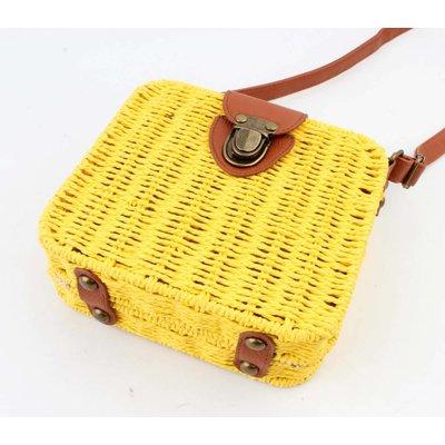 "Crossbody bag""Songimvelo"" yellow/brown"