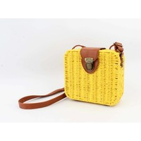 "Crossbody bag""Songimvelo"" yellow/brown"
