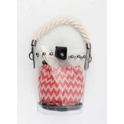 "Crossbody bag""Karongwe"" red"
