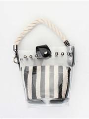 """Crossbody bag""""Lourene"""" black/white"""