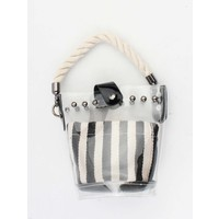 "Crossbody bag""Lourene"" black/white"