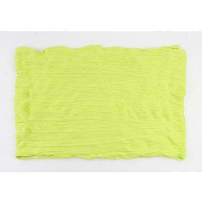 "Schal ""Uni Jersey S"" giftig grün"