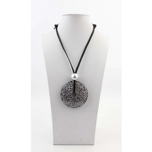 """Necklace """"Marloth"""" grey"""
