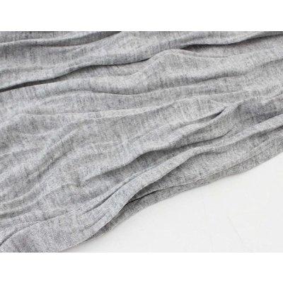 """Sjaal """"Uni Jersey S"""" gemeleerd grijs"""