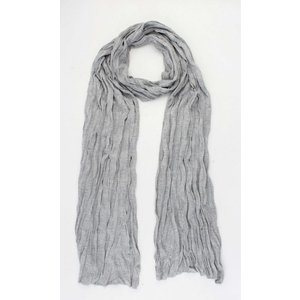 "Scarf ""Uni Jersey S"" mixed grey"