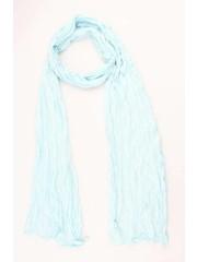 "Sjaal ""Uni Jersey S"" lichtblauw"