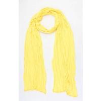 """Schal """"Uni Jersey S"""" gelb"""