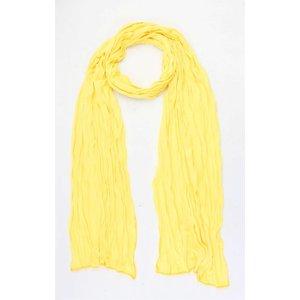 "Scarf ""Uni Jersey S"" yellow"