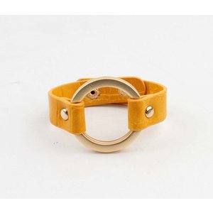 """Armband """"Milan"""" geel"""