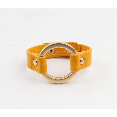 "Bracelet ""Milan"" geel"
