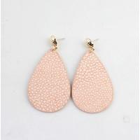 "Earring ""Liv"" pink/gold"