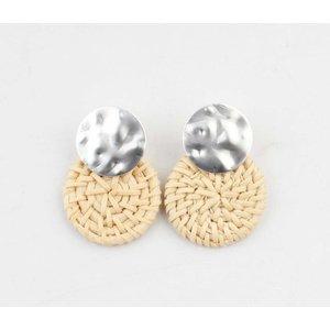 """Earring """"Mila"""" silver"""