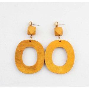 """Earring """"Lisa"""" yellow"""