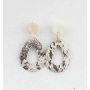 "Earring ""Nora"" white"
