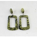 "Earring ""Elin"" green"
