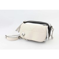 "Cross body bag ""Kay"" white"