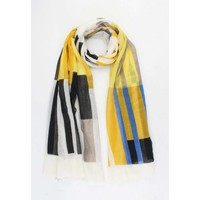 "Scarf ""Janne"" yellow"