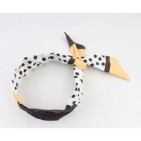"Hair band ""Lara"" multi, per 2pcs"