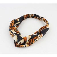 "Hair band ""Bo"" brown, per 2pcs"