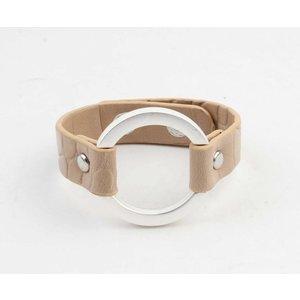 """Armband """"Milan"""" bruin"""
