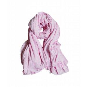 """Sjaal """"Uni Jersey S"""" roze"""