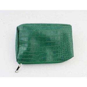 """Make up bag """"Gwen"""" green"""