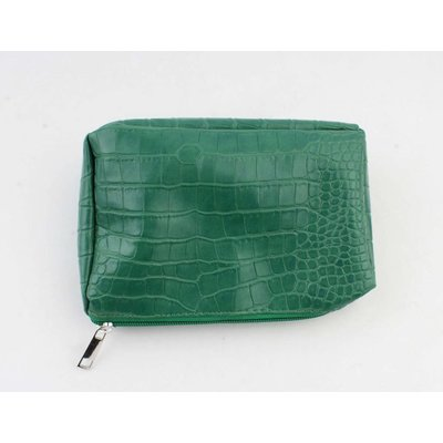 "Make up bag ""Gwen"" green"