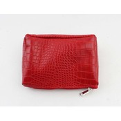 "Make up bag ""Gwen"" red"