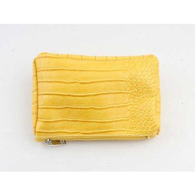"""Make up bag """"Gwen"""" yellow"""
