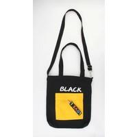 """Canvas bag """"Pebble"""" black"""