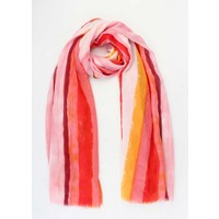 "Scarf ""Kaya"" red"