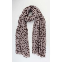 "Scarf ""Kayla"" taupe/brown"