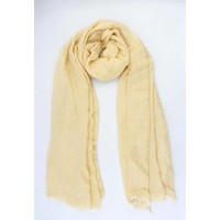 "Scarf ""Patrice"" yellow"