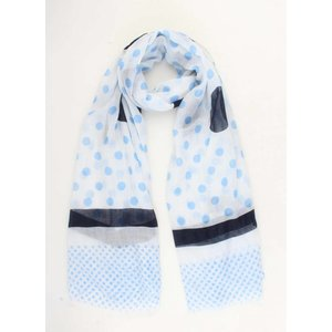"Scarf ""Quita"" blue"