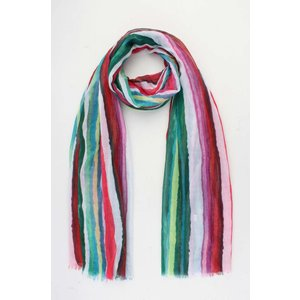 """Sjaal """"Milou"""" groen/ multicolor"""