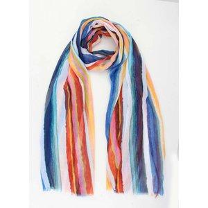 "Sjaal ""Milou"" blauw/multicolor"